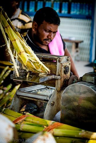 Sugarcane Juice Man