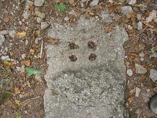 Fixing holes on granite sleeper