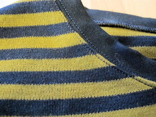 Men's Sweater made with wool sweater knit from Mood Fabrics