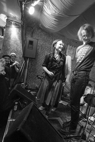 Tonia Reeh + Rudi Fischerlehner + Barbara Morgenstern 24.01.2014 @ Schokoladen, Berlin