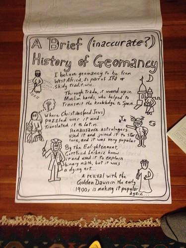 Geomancy Visual Aids: History of Geomancy
