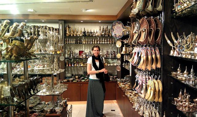 Dubai gift shop