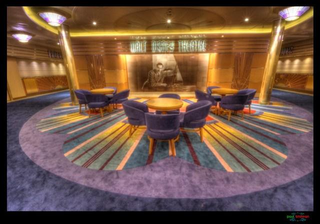 Disney Magic ReImagined Walt Disney Theatre Atrium