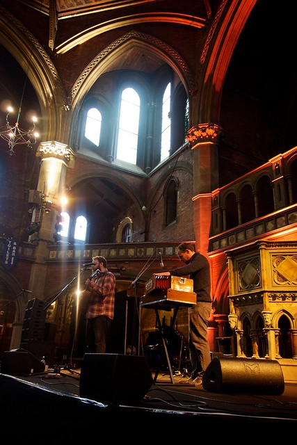 Daylight music at Union Chapel