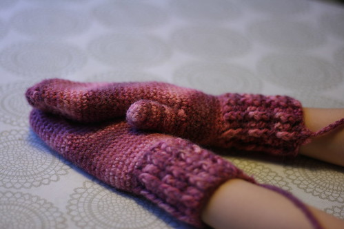 Mittens for Karítas