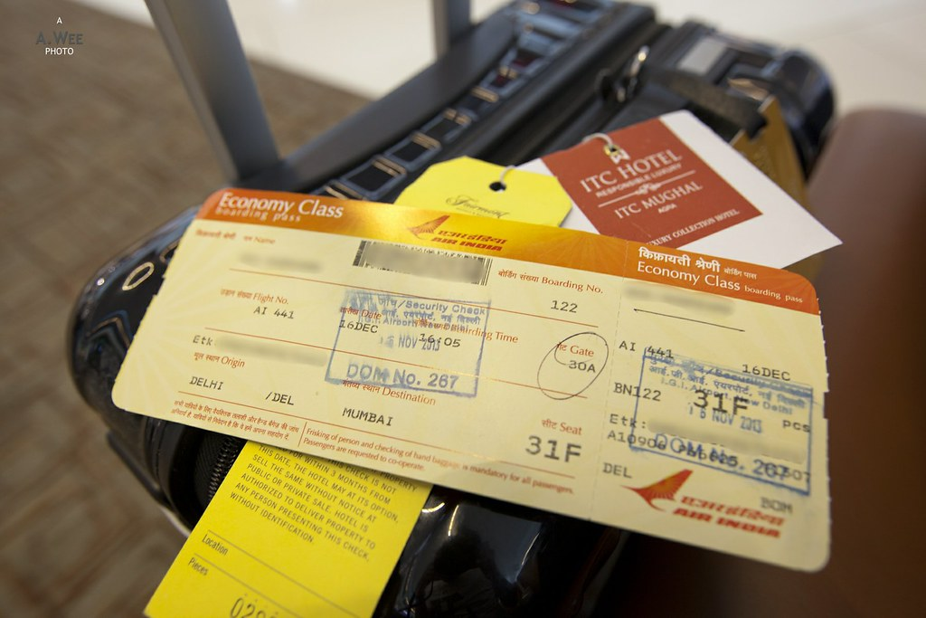 Air India Boarding Pass
