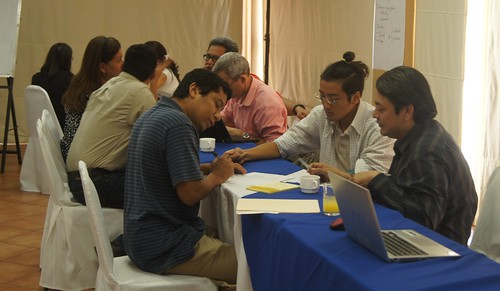 Participants at the Livestock and Fish gender workshop in Managua, Nicaragua