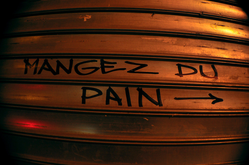 MANGEZ DU PAIN