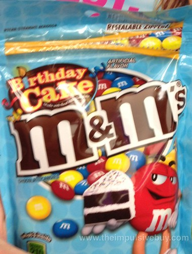 Birthday Cake M&M's