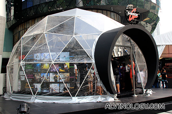 Casio pop-up store at ION Orchard
