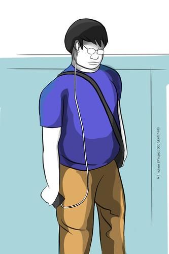 """""""Big Ben"""" (#197: Project 365 Sketches)"""