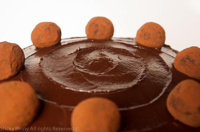 Sticky Pinny Salted Caramel Chocolate Cake 3