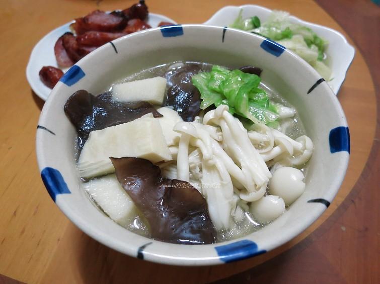 養生菌菇竹筍湯