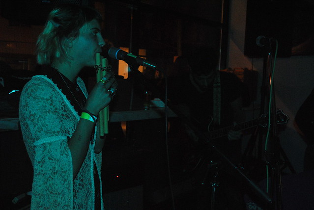 Doomsquad performing in the Samuel J. Moore restaurant as part of Long Winter on Nov. 8. Photo: Tom Beedham