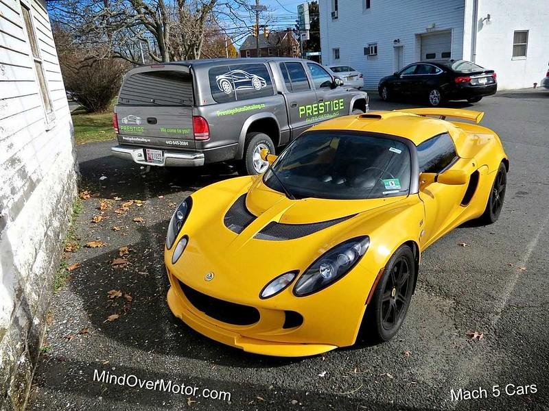 Lotus Exige S at Mach 5