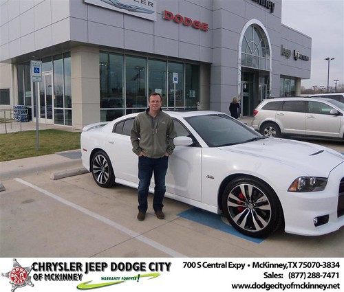 Happy Anniversary to James J Matthews Iii on your 2013 #Dodge #Charger from Joe Ferguson  and everyone at Dodge City of McKinney! #Anniversary by Dodge City McKinney Texas