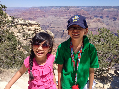 Grand Canyon junior rangers