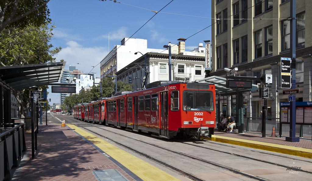 Tram at C Street
