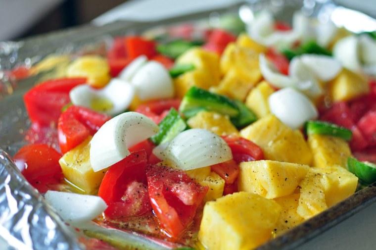 Roasted Pineapple Salsa 2