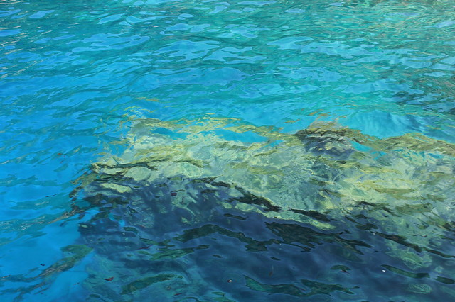Underwater harbor