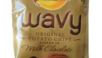 Limited Edition Lay's Wavy Original Potato Chips Dipped in Milk Chocolate