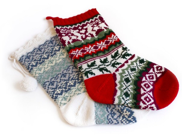 Knitted Christmas Stockings