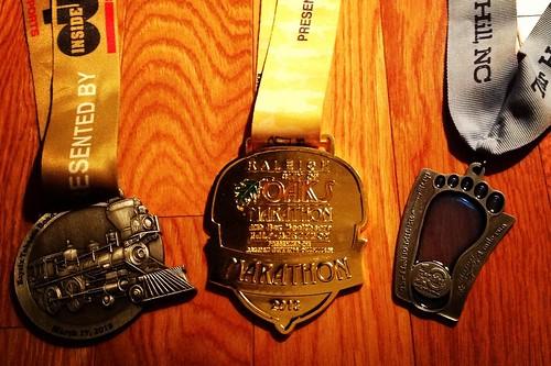City of Oaks Marathon Metal