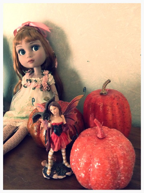 Faith, fairies and pumpkins.