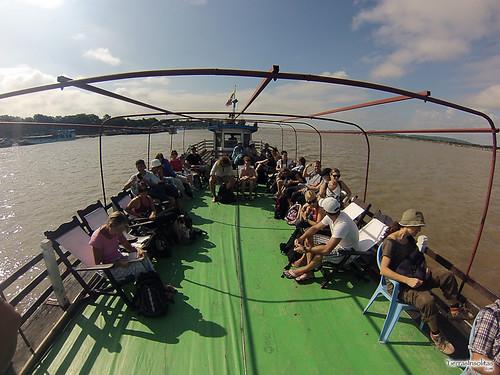 Ferry Mandalay-Mingun (Myanmar)
