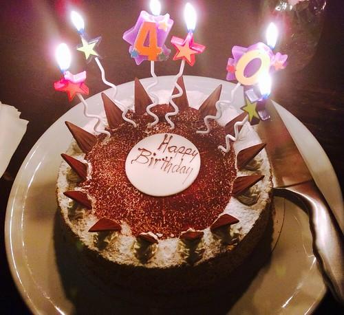 Shai's 40th Birthday: 1920s Cocktail Party: The Birthday Cake