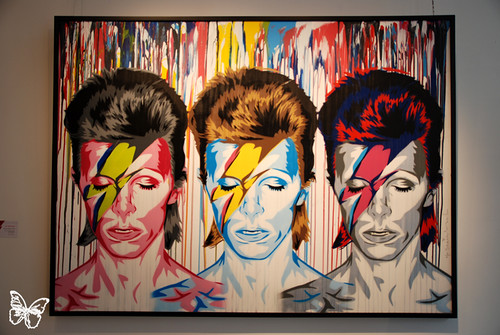 The Many Faces of David Bowie - Opera Gallery London