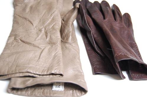 rummaged gloves