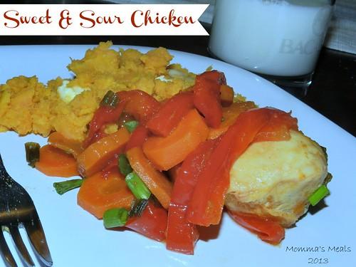 Sweet & Sour Chicken (1)