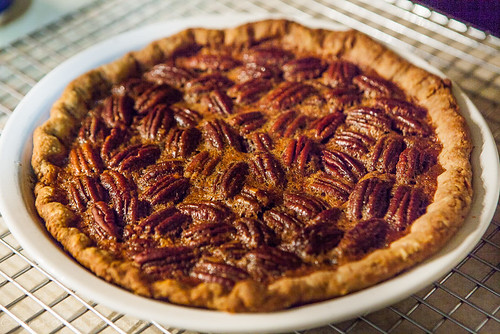 Kentucky Bourbon Pecan Pie