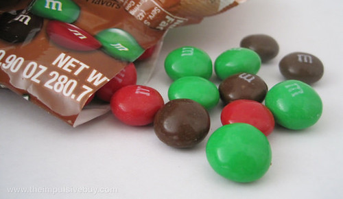 Milk Chocolate Gingerbread M&M's Spilling out into the wild