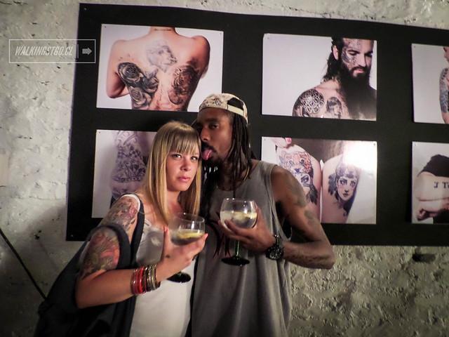 Lanzamiento libro #TatuajesSCL de Fernanda Galmez [@fergalmez] en @milm2_ 17.12.2013