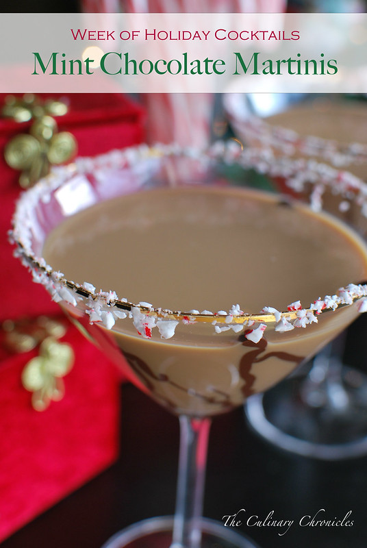 Mint Chocolate Martinis