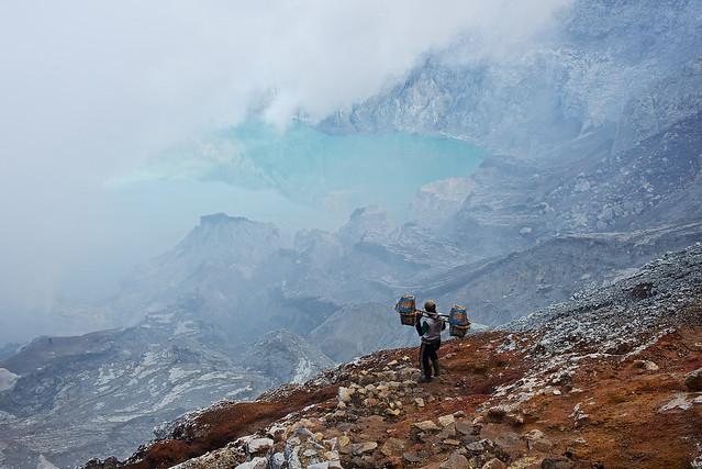 Mt Ijen Sulfur Mine