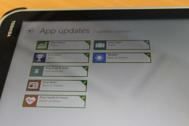 Bing updates for Windows 8.1