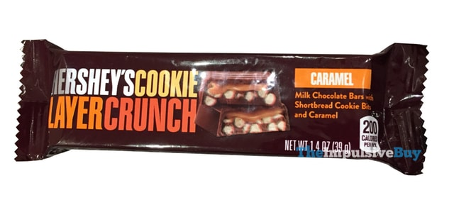 Hershey's Caramel Cookie Layer Crunch Bar