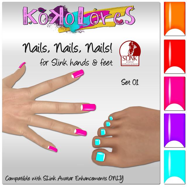 Nails, Nails, Nails! Set 01