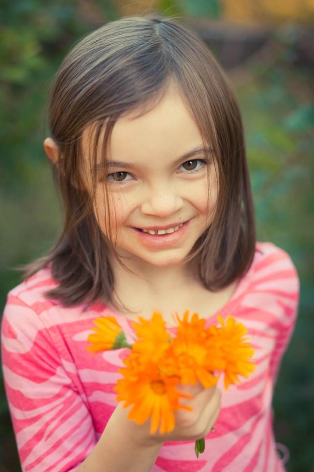 42/52/Portrait - Flower Girl