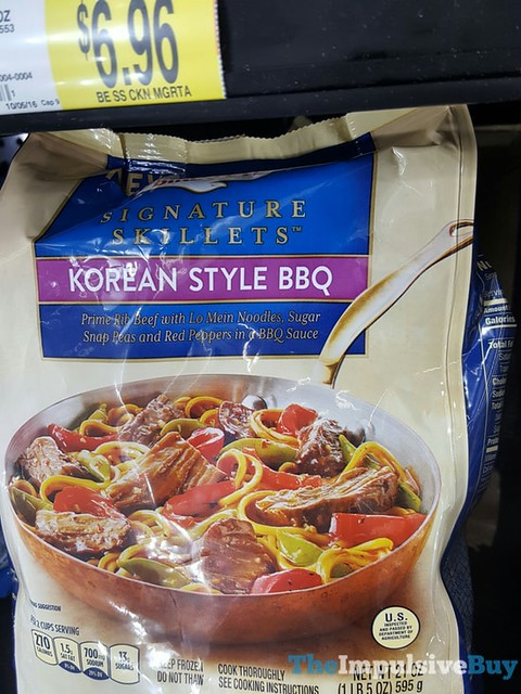 Birds Eye Korean Style BBQ Signature Skillets