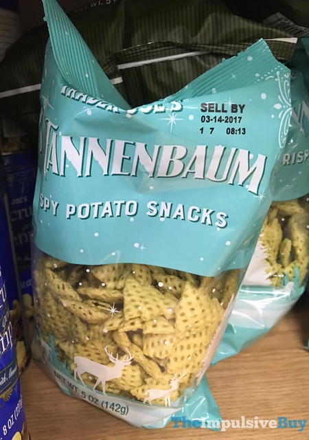 Trader Joe's Tannenbaum Crispy Potato Snacks