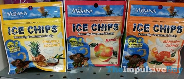 Ice Chips (Pineapple Coconut, Mango, and Mandarin Orange)