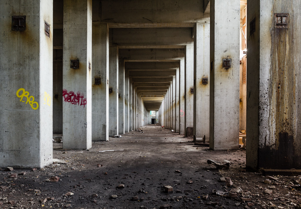 Coking Hallway