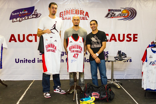 San Miguel PBA Teams Auction for a Cause