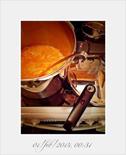 Seville Orange Marmalade Pentola a Pressione