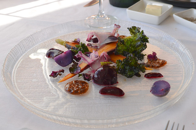 Purple Salad saba mustard