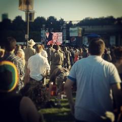 Robert Plant at the Taste of Chicago #latergram